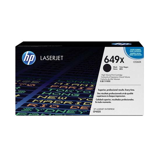 圖片 HP CE260X 黑色高容量碳粉匣