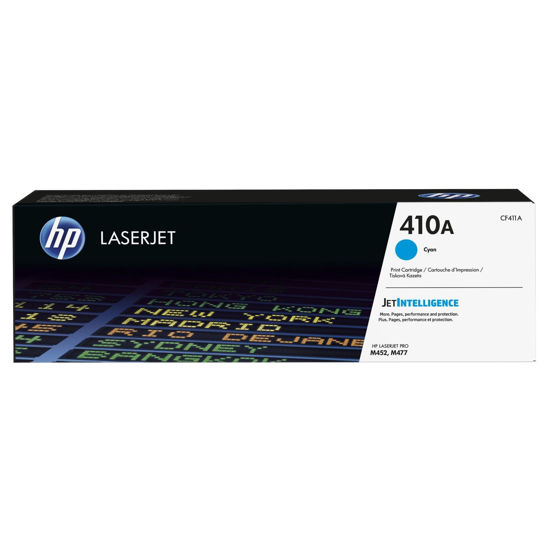 Picture of HP CF411A 原廠青藍色碳粉匣