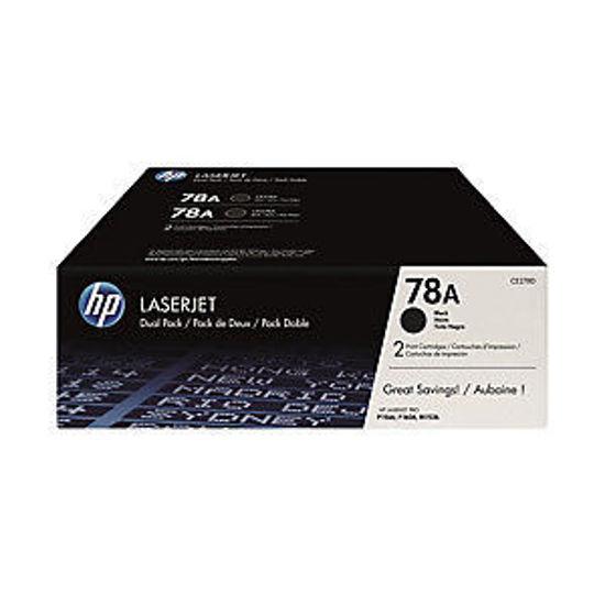 圖片 HP CE278AD 原廠黑色碳粉匣