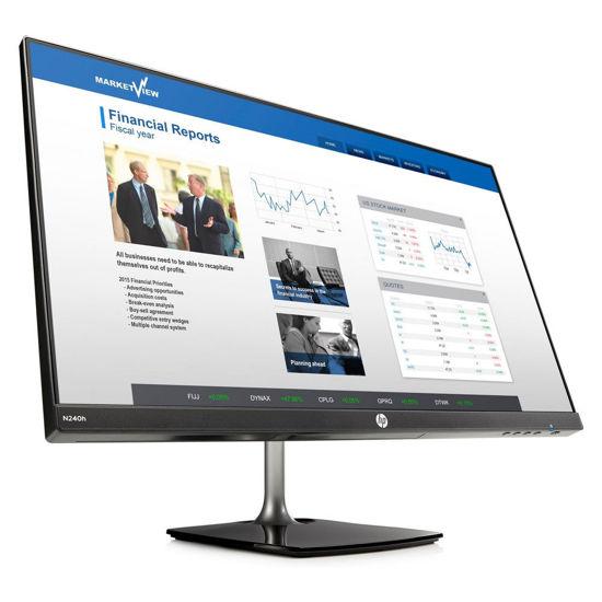 Picture of HP N240h 23.8吋 IPS可升降電腦螢幕