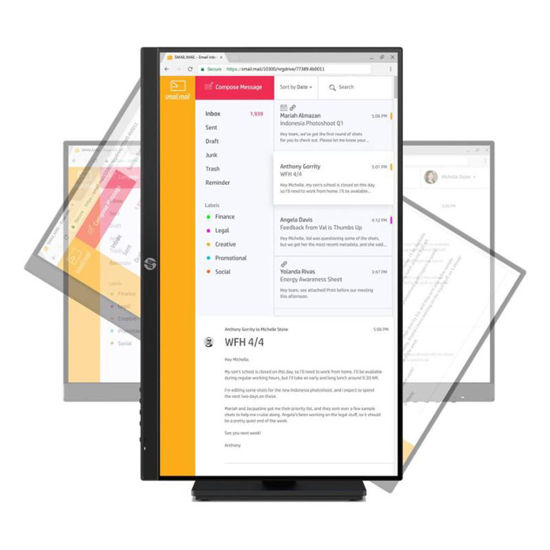Picture of HP P24h G4 23.8吋 IPS 可旋轉電腦螢幕