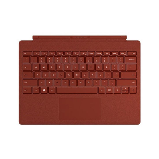 """圖片 """"拆封新品""""Microsoft Surface Pro Alcantara 鍵盤 緋紅色"""
