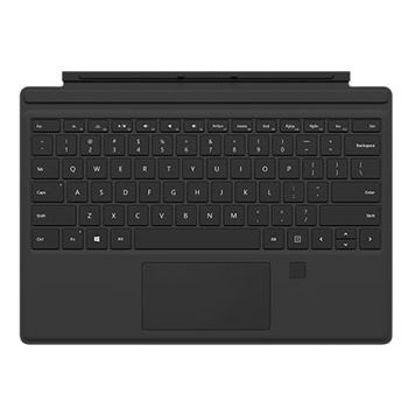 """圖片 """"拆封新品""""Microsoft Surface Pro 指紋辨識鍵盤(黑)"""