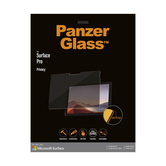 圖片 北歐嚴選品牌Panzer Glass Surface Pro 專用防窺玻璃保護貼 送多功能工具筆