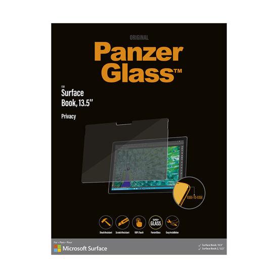 圖片 北歐嚴選品牌Panzer Glass Surface Book 13.5吋 專用防窺玻璃保護貼 送多功能工具筆
